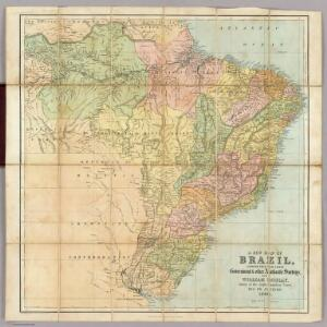 A new map of Brazil.