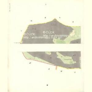 Mitter Beczwa (Prostředny Beczwa) - m2424-1-001 - Kaiserpflichtexemplar der Landkarten des stabilen Katasters