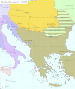 Südosteuropa 1809