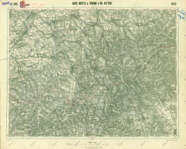 III. vojenské mapování 4459