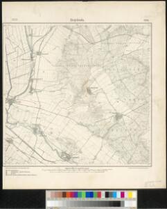 Meßtischblatt 2676 : Ziegelroda, 1905