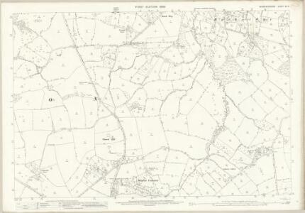 Worcestershire XIII.6 (includes: Bayton; Cleobury Mortimer; Rock) - 25 Inch Map