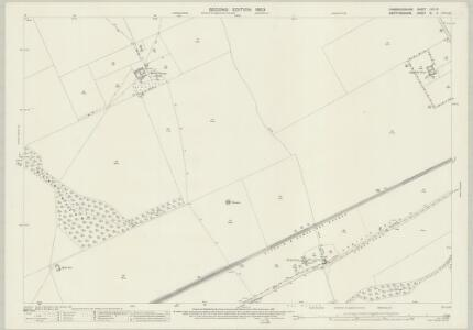 Cambridgeshire LVII.16 (includes: Litlington; Steeple Morden; Therfield) - 25 Inch Map