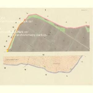 Borkowitz - c0380-1-001 - Kaiserpflichtexemplar der Landkarten des stabilen Katasters