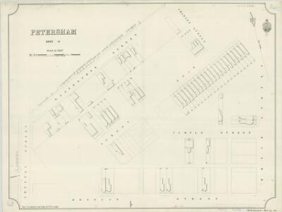 Petersham, Sheet 13, 1890