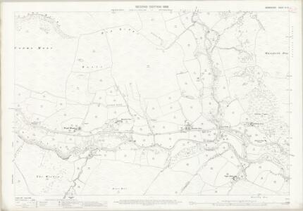 Derbyshire VI.8 (includes: Hope Woodlands) - 25 Inch Map