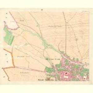 Müglitz (Mohelnice) - m1841-1-003 - Kaiserpflichtexemplar der Landkarten des stabilen Katasters
