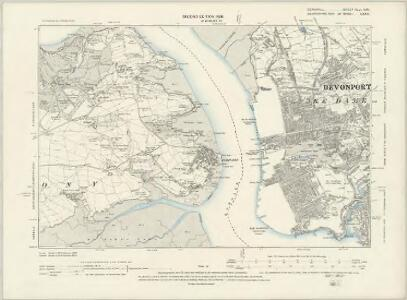 Cornwall XXXVIII.NW - OS Six-Inch Map