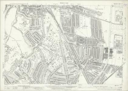 Middlesex VII.7 (includes: Edmonton All Saints; Enfield St Andrew) - 25 Inch Map