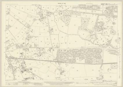Lancashire CXI.13 (includes: Altrincham; Manchester) - 25 Inch Map