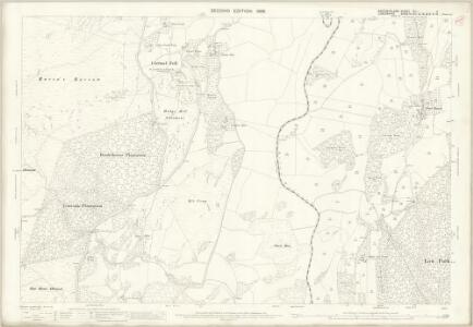 Westmorland XLI.4 (includes: Cartmel Fell; Crosthwaite And Lyth; Witherslack) - 25 Inch Map