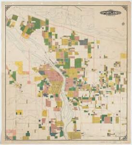 Map of Portland, Oregon