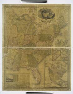 Map of the United States / by J.H. Young ; engraved by J.H. Young, D. Haines & F. Dankworth.