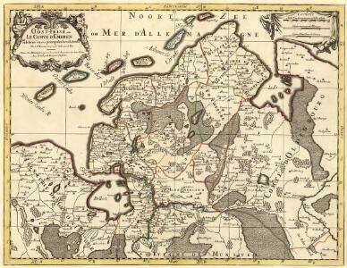 Oost-Frise, ou Le Comté d'Embden subdivisé en ses principales Iuris dictions
