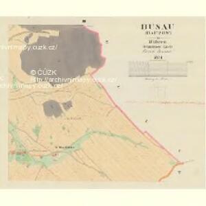 Busau (Bauzow) - m0193-1-003 - Kaiserpflichtexemplar der Landkarten des stabilen Katasters
