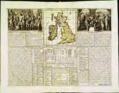 Carte du gouvernement militaire d'Angleterre