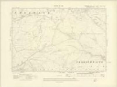Yorkshire CXXXV.SW - OS Six-Inch Map