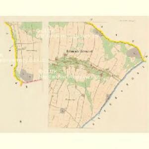 Böhmisch Petersdorf (Czeski Petrowice) - c0975-1-002 - Kaiserpflichtexemplar der Landkarten des stabilen Katasters