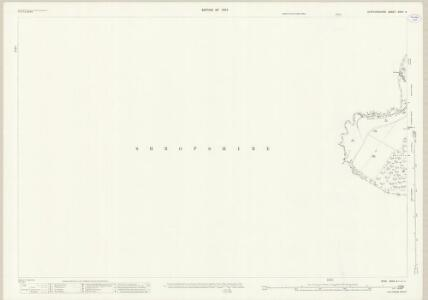 Staffordshire XXVII.4 (includes: Market Drayton; Moreton Say; Sutton Upon Tern; Tyrley) - 25 Inch Map