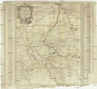 Geographische Charte des Herzogthums Magdenburg und Halle