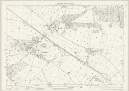Herefordshire XXXI.12 (includes: Llangernyw; Peterchurch) - 25 Inch Map