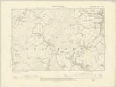 Radnorshire IX.NW - OS Six-Inch Map