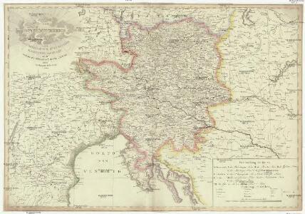 Karte von Innerösterreich