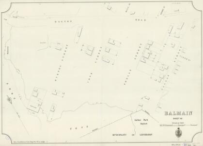 Balmain, Sheet 62, 1890