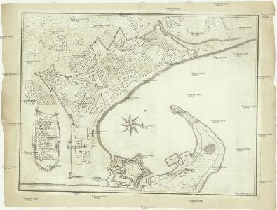 Plan von den Königl. Haubt und Residenz Statt Messina in Königreich Sicilien Annotatio