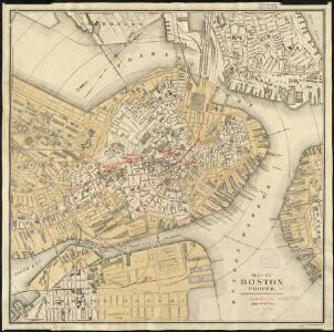 Map of Boston proper
