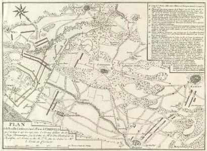 Plan de la Bataille d'Anrad, dans la Plaine de Creeveld
