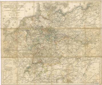 Post Charte der Östereichis = Teutschen, Preussischen u. Teut. Bund. Staaten...