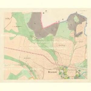 Kokorzow - c3272-1-003 - Kaiserpflichtexemplar der Landkarten des stabilen Katasters
