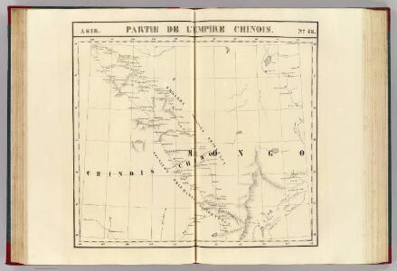 Partie, l'Empire Chinois. Asie 46.