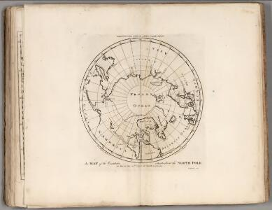 Map of the Countries situate about the North Pole.