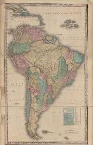 South America : with improvements to 1825