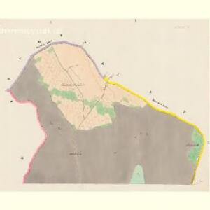 Skaschow (Skassowa Lhotta) - c6928-1-001 - Kaiserpflichtexemplar der Landkarten des stabilen Katasters
