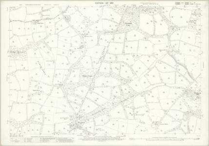 Sussex II.14 (includes: Rudgwick; Slinfold; Warnham) - 25 Inch Map