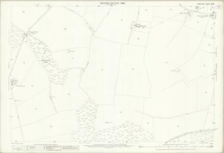Hampshire and Isle of Wight XXV.8 (includes: North Waltham; Steventon) - 25 Inch Map