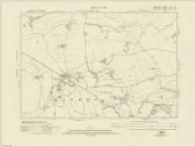 Berkshire XXV.NW - OS Six-Inch Map