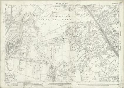 Kent VIII.13 (includes: Bromley; Chislehurst and Sidcup) - 25 Inch Map