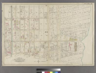 Plate 26: Bounded by Kingston Avenue, Malabone Street, New York Avenue, Montgomery Street, Rogers Avenue, Crown Street, Bedford Avenue and Herkimer Street.