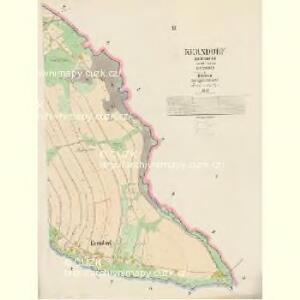 Kerndorf - c2731-3-002 - Kaiserpflichtexemplar der Landkarten des stabilen Katasters