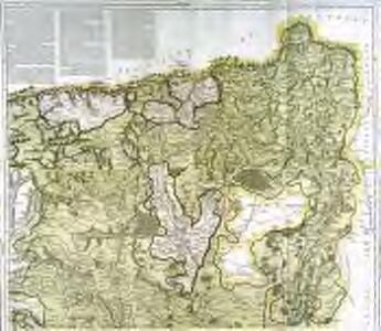 Mapa geográfico de una parte de la provincia de Leon, 1