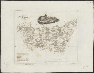 [Atlas départemental : La France et ses colonies] No. 85 Vosges