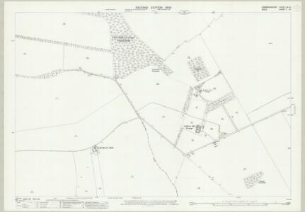 Cambridgeshire LIX.10 (includes: Chrishall; Duxford; Elmdon; Ickleton) - 25 Inch Map