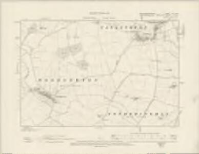 Northamptonshire XIII.NW - OS Six-Inch Map