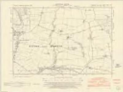 Yorkshire CXCII.NE - OS Six-Inch Map