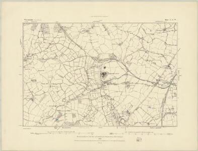 Worcestershire VII.SW - OS Six-Inch Map