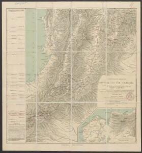 Übersichtskarte von Mittel- und Süd-Colombia